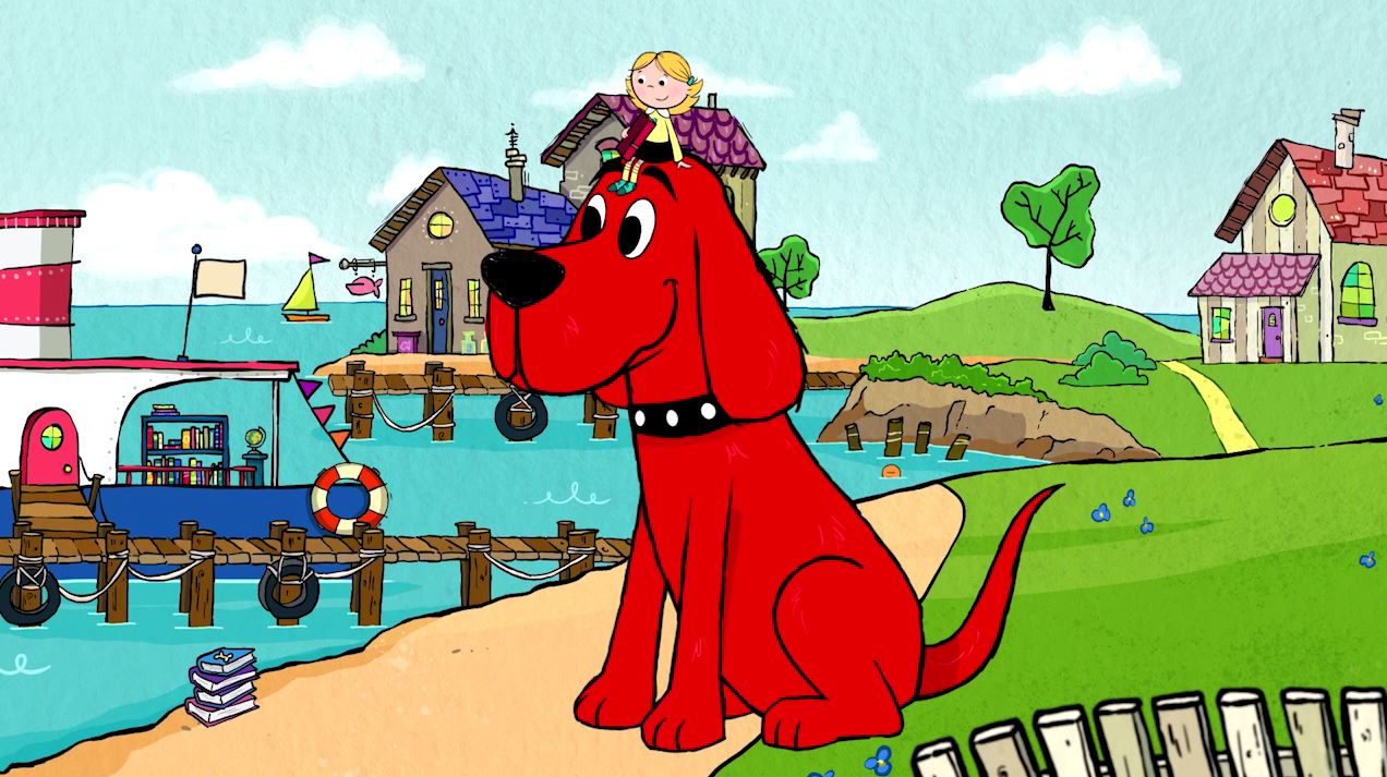 clifford the big red dog 9 story media group